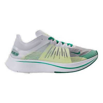 Unisex Nike Zoom Fly SP Running Shoes White Lucid Green Summit White AJ9282  101 294e6a862083