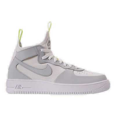 NIKE AIR FORCE 1 ULTRAFORCE MID TECH MEN's CASUAL WOLF GREY