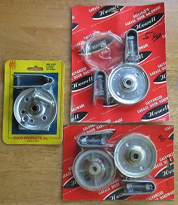 """Garage Door 3"""" Pully Hardware. 2 Sets Of Sheaves And Clevis Pulleys. (Flo)"""