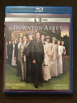 Masterpiece: Downton Abbey - Season 1 Blu-ray Disc, 2011, 2-Disc Set Original UK