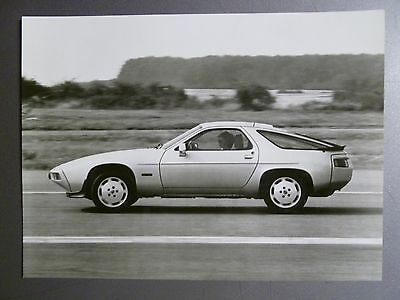 1980 Porsche 928 S Porsche Factory Press Photo, Foto RARE!! Awesome L@@K