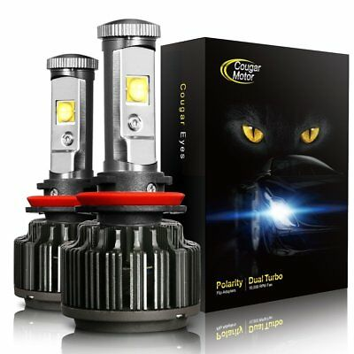 CougarMotor LED Headlight Bulbs All-in-One Conversion Kit