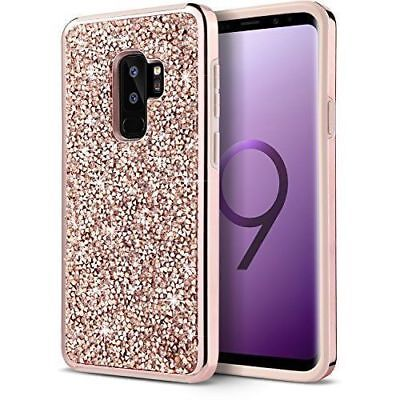 Glitter Sparkle Bling Protective Case Cover for Samsung Galaxy S8 S9 Plus Note 9