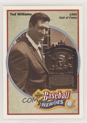 1992 Upper Deck Baseball Heroes #35 1966 Hall of Fame - Ted Williams (Mariners)