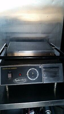 Commercial Large Panini Grill Press 120 VAC 1800 W