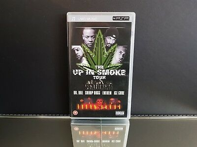 The Up In Smoke Tour Dr Dre Eminem Ice Cube PSP UMD / Sony PlayStation Portable