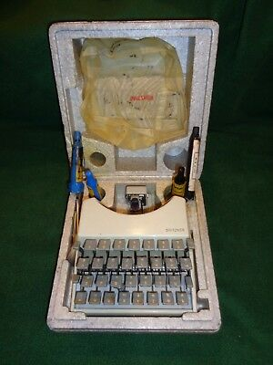 Gritzner Lettering Typewriter Machine