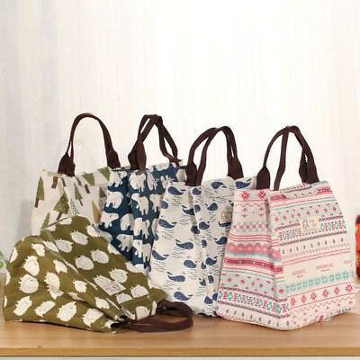 New Thermal Tote Insulated Pouch Handbag Waterproof Storage Picnic Bag Lunch Box