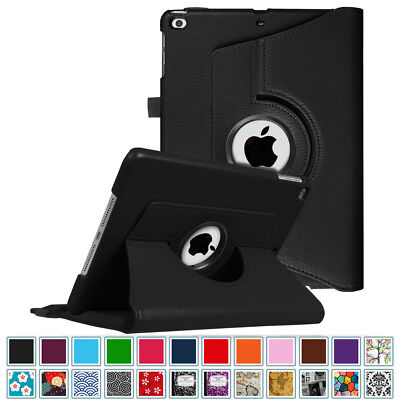 For New iPad 9.7 inch 6th Gen 2018/2017 5th Air 360° Rotating Case Stand Cover
