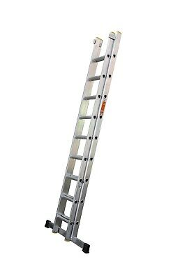 Professional Extension Ladders Including Stabiliser Bar - Double Section Ladders