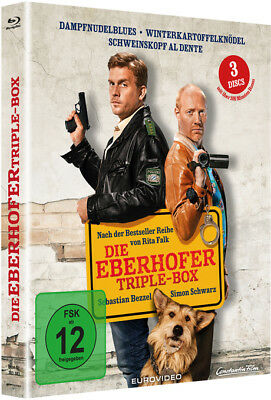 Die Eberhofer - Triple Box | DVD | deutsch | NEU | 2017 | Rita Falk