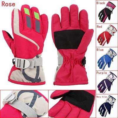 Children Winter Snow Warm Gloves Boys & Girls Ski Snowboard Wind Waterproof Hot