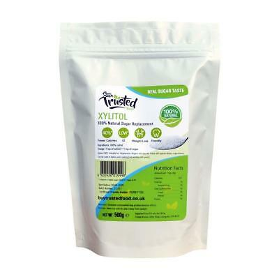 Xylitol 500g - Low Calories 100% Natural Sugar Replacement