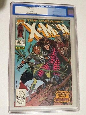 Uncanny X-Men #266 CGC 9.6 (Marvel) US Cents copy 1st GAMBIT!