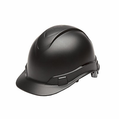 Pyramex Safety Ridgeline Black Graphite 4 Point Ratchet Cap Hard Hat HP44117