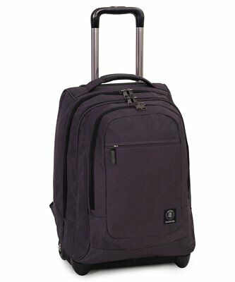 Zaino  Invicta Extra Bump Trolley Business nero