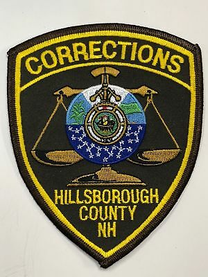 Hillsborough County New Hampshire Department Of Corrections Collectible Patch