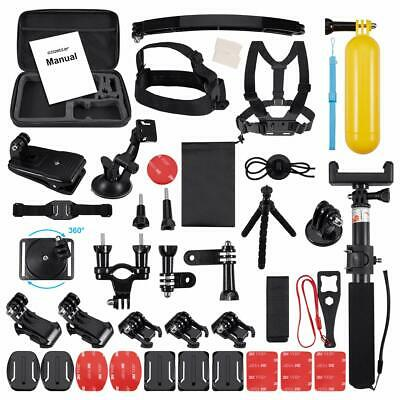 Action Camera Bundle Set 52 in 1 Accessories Kit For GoPro Hero 6 5 4 3 Sessions