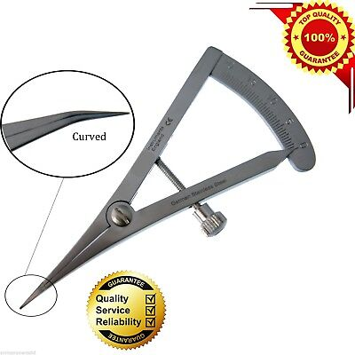 Castro Gauge Curved Dental Surgical Orthodontic Instrument CE