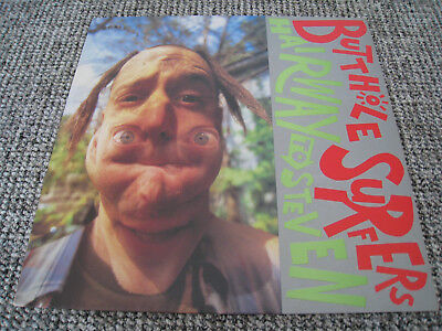 Butthole Surfers - Hairway To Steven LP + Sonic Youth +  	Dinosaur Jr.