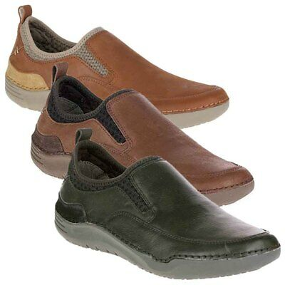 NEW Mens Hush Puppies Crofton Method Casual Shoes/Slip-On - Pick Size & Color