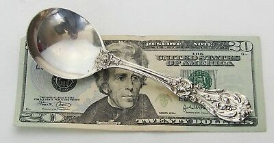 Antique Vintage Signed Reed & Barton Francis I Sterling Silver Soup Spoon 6""