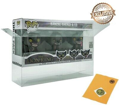 "Vinyl Box Case Protector for 6"" Funko Pops x (5pack)"