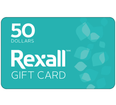 Buy $50 Rexall Gift Card for only $45 - Email Delivery