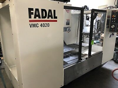 Fadal Vmc 4020 : 1Yr Warranty On All Parts and Labor : completely remanufactured