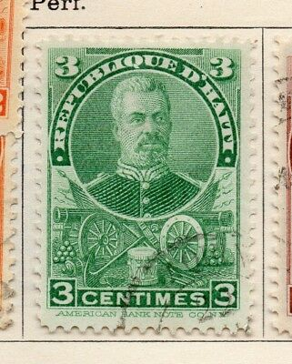 Hayti 1898-1900 Early Issue Fine Used 3c. 234475
