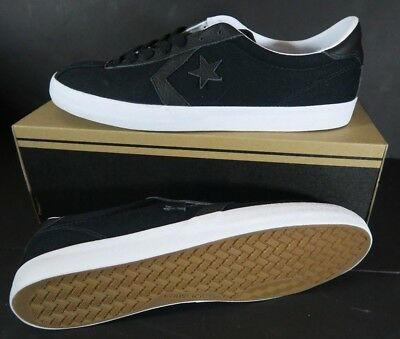 4055af62d560 Converse Breakpoint Ox Black White Mens Canvas Low-top Trainers Size 11.5
