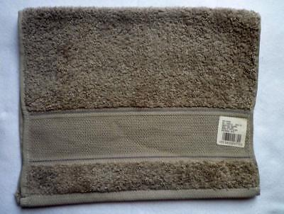 Terry Cloth Towel with aidafeld FOR EMBROIDERING Medium Grey 30 x 50 cm