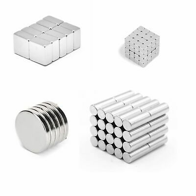 Neodymium Super Magnet Disc Magnets Strong Magnets Ø2-ø20 Refrigerator Pin Board
