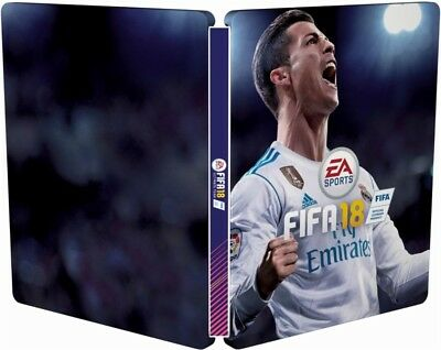 FIFA 18 Legacy Edition (PS3) + Limited Edition Ronaldo Steelbook ***BRAND NEW***
