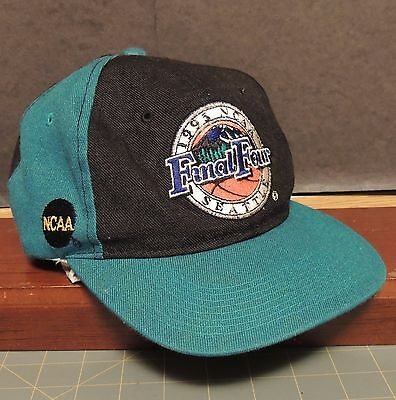 1995 NCAA Final Four Seattle Snapback Hat Sports Specialties Back Script Vintage