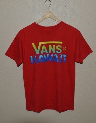 64e8128f10e ... Otw Red Dhalia Online Shop Italy Tricase. Tshirt Vans Off The Wall  Tshirt Adult Unisex Size S 3xl. Mens Vans Off The Wall Hawaii Classic T  Shirt Size ...