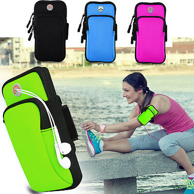 Safety Armband Sports Gym Running Waterproof for Galaxy S9 Plus iPhone 6s 7 8 X