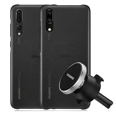 For Huawei P20 /P20P Original Navigation Magnetic Cover Back Case w/ Car Holder