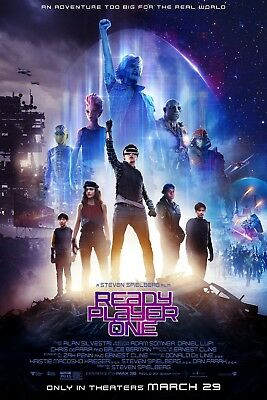 Ready Player One 2018 A2,A1,61x91cm(24x36inch) MOVIE POSTER