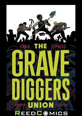 GRAVEDIGGERS UNION VOLUME 1 GRAPHIC NOVEL New Paperback Collects Issues #1-5