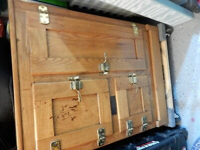 Antique Oak Ice Box  JUST REDUCED!!!!