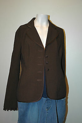 Motherhood Maternity Brown Jacket / Blazer / Suit Coat Size S Small