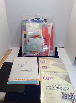 assorted scrapbooking papers lot 204