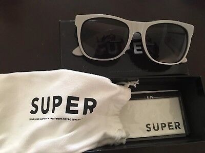 6ca62bc5861d RETROSUPERFUTURE Super Sunglasses BASIC PEARLY GREY Handmade In Italy