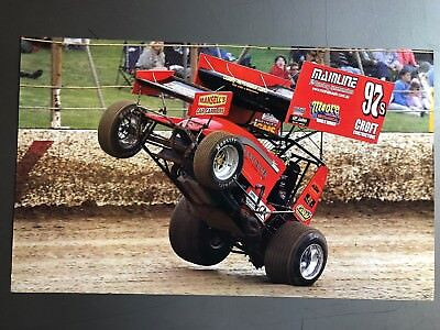 2014 Sprint Race Car World of Outlaws Print, Picture, Poster RARE!! Awesome L@@K