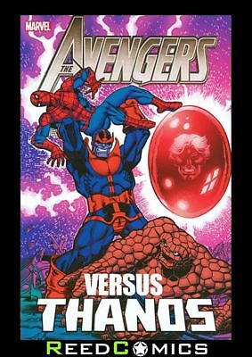 AVENGERS VS THANOS GRAPHIC NOVEL (472 Pages) New Paperback