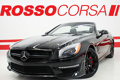 2014 Mercedes-Benz SL-Class SL63 AMG 14 Mercedes-Benz SL63 AMG / AMG PERFORMANCE PKG / CARBON PKG / CUSTOM BLACK OUT