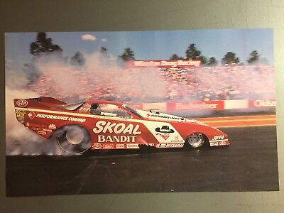 """1990 Don """"the Snake"""" Prudhomme's NHRA Funny Car Drag Print Picture Poster RARE!!"""