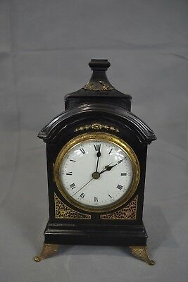 Rare Antique Chinese Bracket Table Music Clock Full Working Order Qing Dynasty