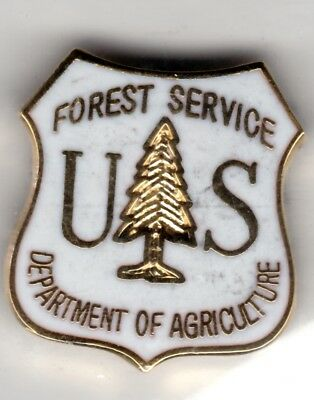 Vintage US Forestry Service, Department of Agriculture pin